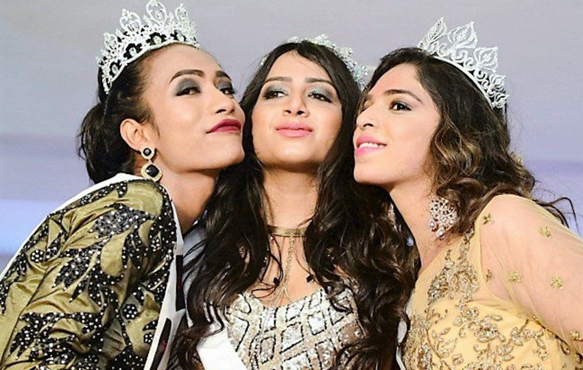 trans beauty contest, miss trans queen, india transgender beauty contest, kolkata miss trans queen, fashion news, lgbtq news, good news, indian express, lifestyle news