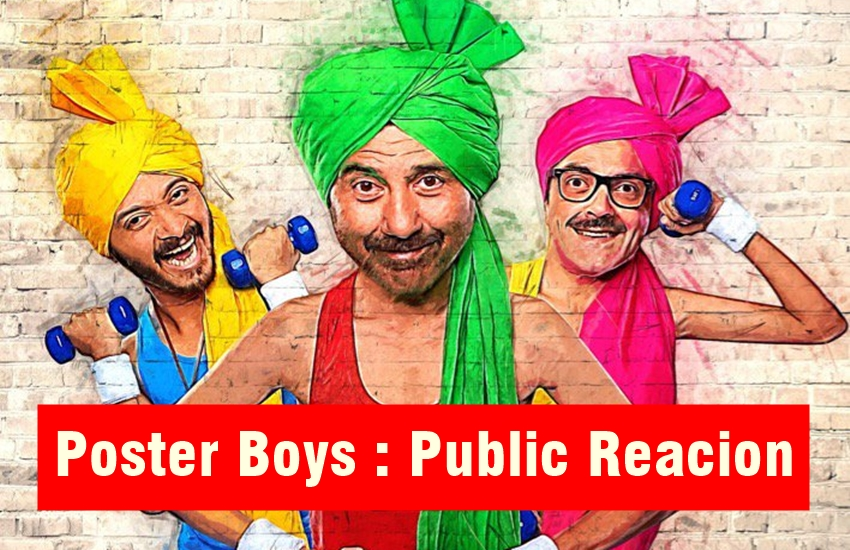 poster boys review, poster boys movie review, poster boys, poster boys review in hindi, poster boys movie review in hindi