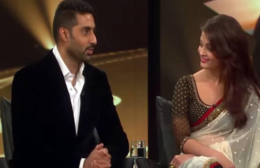 Aishwarya Rai Bachchan, Abhishek Bachchan, Bollywood, The Oprah Winfrey show, Aishwarya spotted kissing, Aishwarya spotted kissing in public, Aishwarya asked Abhishek peck on the cheeks, hollywood media