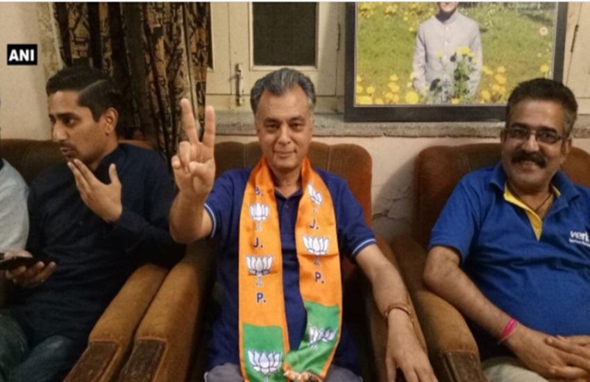 Anil Sharma, Congress Leader Anil Sharma, Joins BJP, Anil Sharma Joins BJP, Himachal Pradesh Elections, Himachal Pradesh, Congress Leader, BJP Leader Anil Sharma, Himachal Pradesh Elections 2017, Himachal Pradesh Elections Update, Himachal Pradesh Elections News, State News, Jansatta