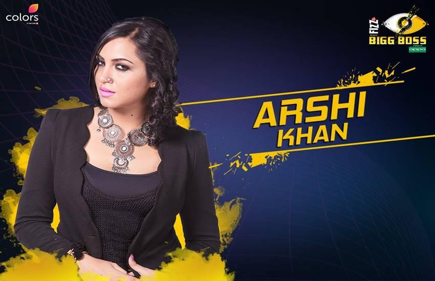 आर्शी खान एक मॉडल और एक्टर हैं।