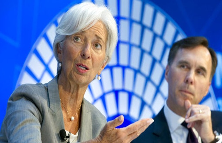 Indian Economy, IMF, IMF Chief, Christine Lagarde, IMF Chief Christine Lagarde, IMF Chief Christine Lagarde Statement, Indian Economy on Right Track, Indian Economy Growth, expressed confidence, solid track, IMF chief says, Economic News, Jansatta