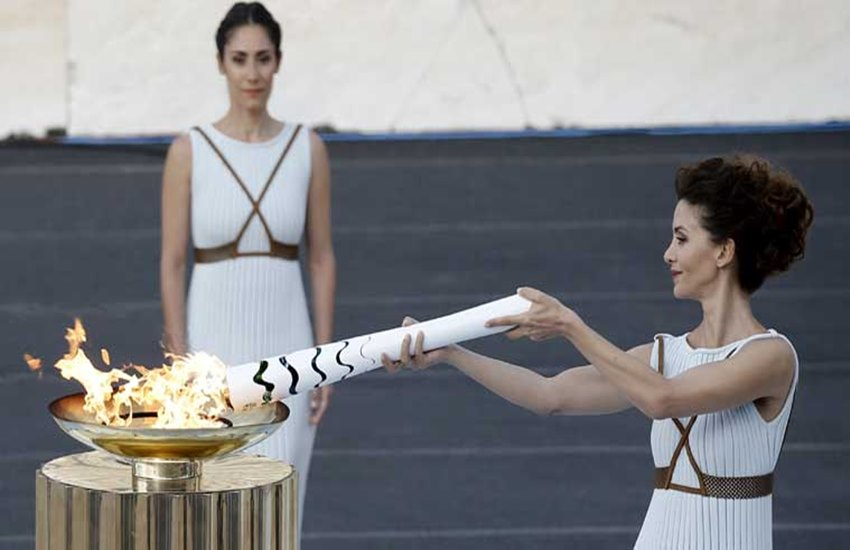 Olympic flame, Olympic torch, Tokyo Games 1964, Olympic flame went out, Officials Admits, Japan Officials Admits, 4 Years Ago, Olympic flame from Tokyo Games, Olympic Games, Olympic in Japan, Tokyo Olympic, International News, jansatta
