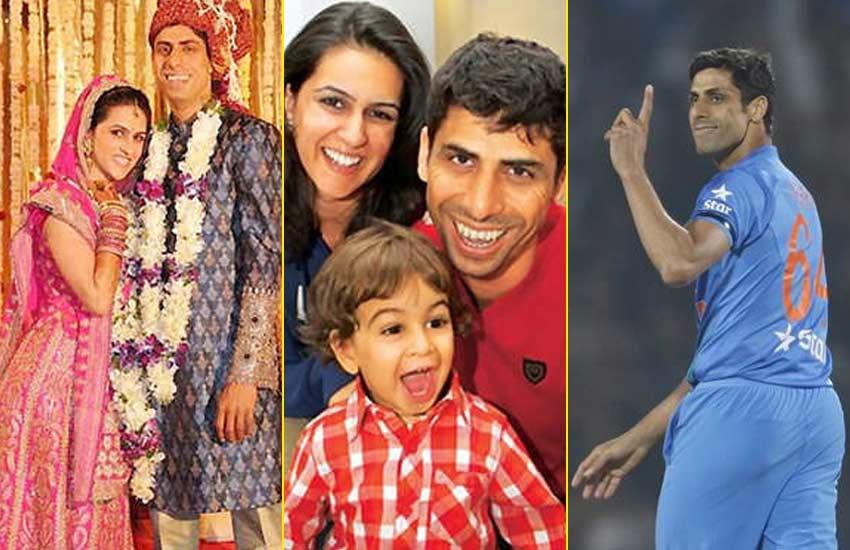 Ashish-Nehra-&-Family