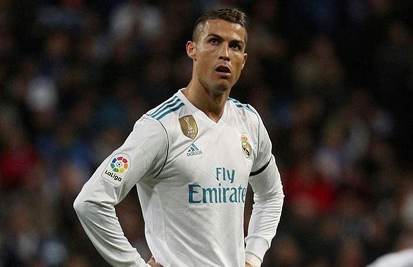 Football Superstar Cristiano Ronaldo