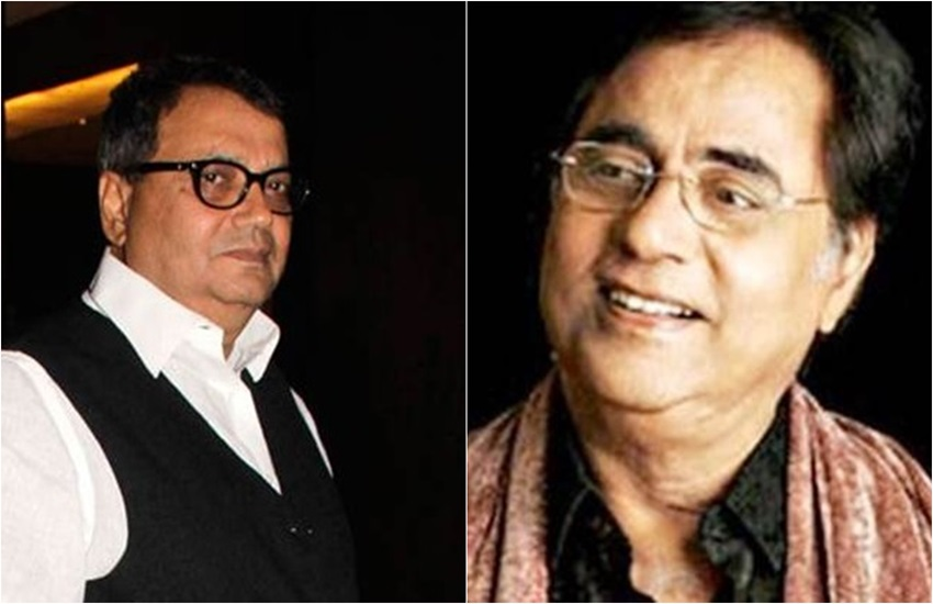 Subhash Ghai and Jagjit Singh