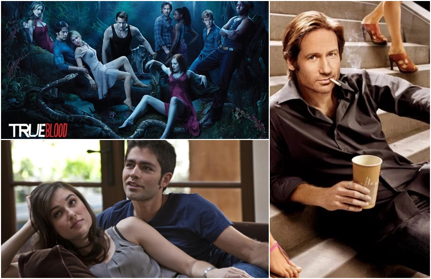 Bold TV Shows, TV Shows with Sex Scenes, Hottest TV Shows, Boldest TV Shows, Nuditiy, TV Shows, Adult Scenes, True Detective, The Americans, Secret Diary of a Call Girl, Sex And the City, Orange Is the New Black, Masters of Sex, Entourage, True Blood, Californication, TV Shows with Bold Scenes