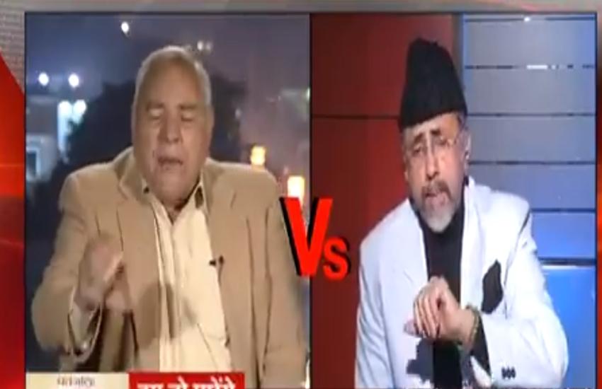 Kulbhushan Jadhav, Jadhav, Pakistan, Pak media, Pak admiral, Pakistani ex admiral Javed iqbal, tv debate, Hindi news, Jansatta