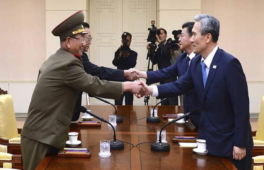South Korea, North Korea, Negotiations, Negotiations betwwen South Korea and North Korea, Negotiations in Next Week, North Korea Has Accepted, Proposal of Negotiations, international news