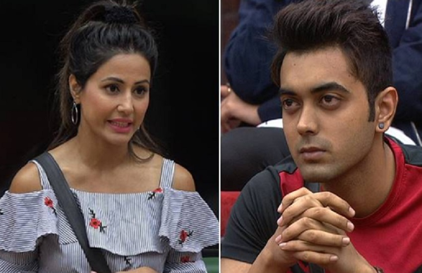Bigg Boss 11, Hina Khan, ye rishta kya kahlata hai actress, hina khan co contestant Luv Tyagi, shilpa shinde, luv tyagi, priyank sharma, vikas gupta, entertainment news, bollywood news, television news