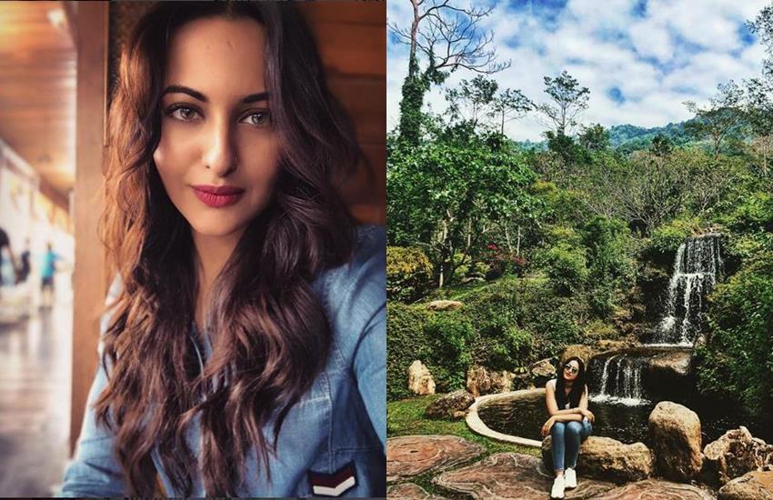 bollywood actress sonakshi sinha, sonakshi sinha thailand, sonakshi sinha holidays, sonakshi sinha thailand pics, social media viral
