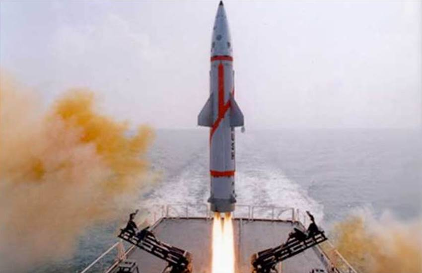 Dhanush Ballistic Missile, Dhanush Ballistic Missile in india, Odisha Coast, Nuclear Capable Dhanush, Ballistic Missile, Ballistic Missile in india, Indnia Successfully Test, Test Fired Nuclear, Dhanush Ballistic Missile test, National news