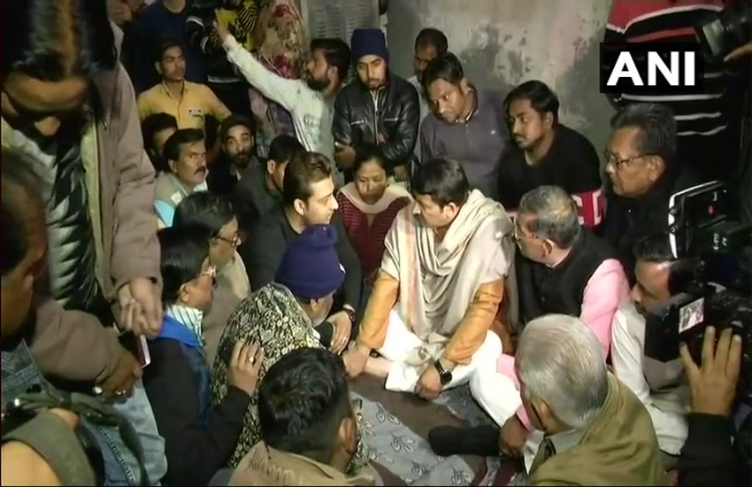 Delhi BJP chief Manoj Tiwari, Manoj Tiwari, Ankit saxena, Ankit, ankit killed by muslims, Muslim father, Hindu boy ankit, Muslim Girlfriend, Arvind kekriwal, Hindi news, Delhi news, Jansatta