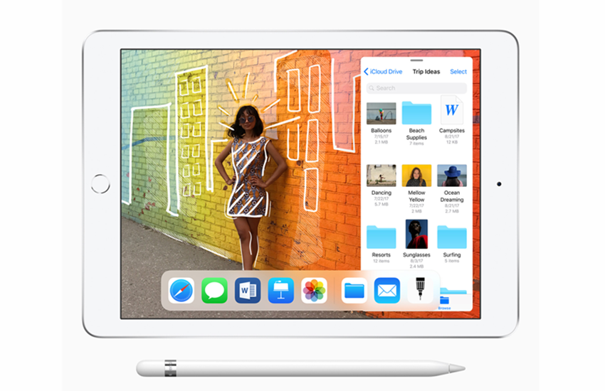 Apple, Apple iPad, 9.7-inch iPad, A10 processor, Apple pencil, AR experience, retina display, iPad 9.7 inch launched, iPad 9.7 inch price, iPad 9.7 inch features, Apple education event,