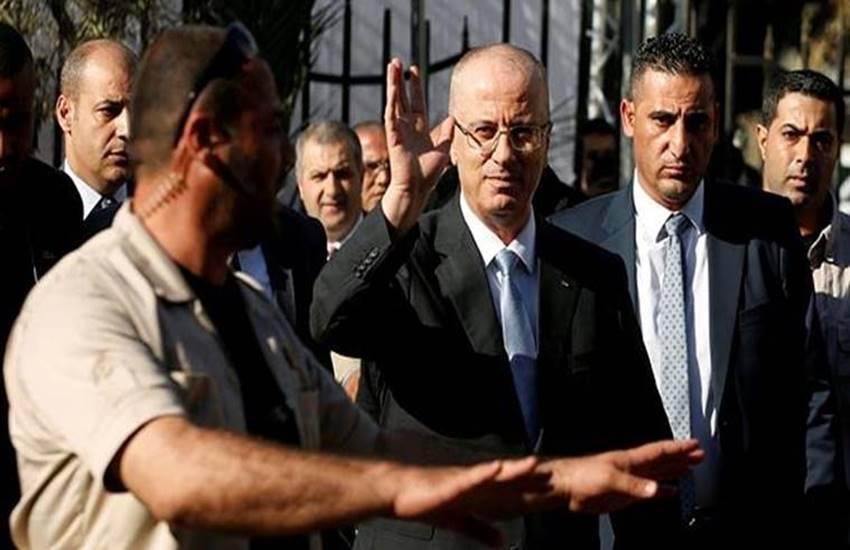Rami Hamdallah, Rami Hamdallah safe, Rami Hamdallah attacks, attacks on Rami Hamdallah, Rami Hamdallah news, Palestine Prime Minister, Palestine Prime Minister Rami Hamdallah, Visit Of Gaza Strip, International news
