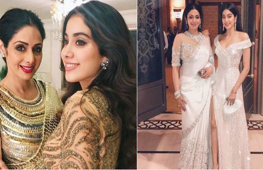 sridevi, sridevi kapoor, janhvi kapoor, janhvi kapoor letter, janhvi kapoor emotional letter, film dadhak, sridevi daughter, bollywood news, jansatta, entertainment news