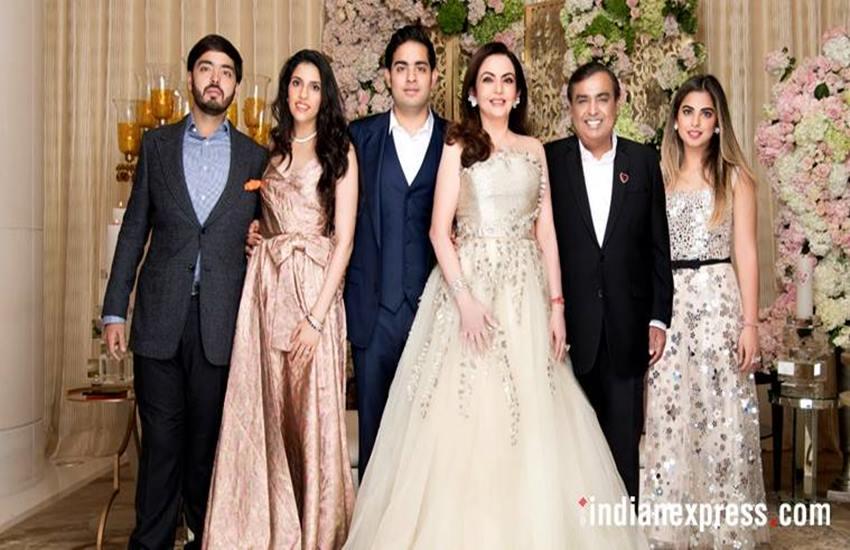 Nita ambani, Mukesh ambani, Akash ambani, akash ambani shloka mehta wedding, akash ambani engagement, nita ambani poem, nita ambani akash ambani poem, hindi news, News in Hindi, Jansatta