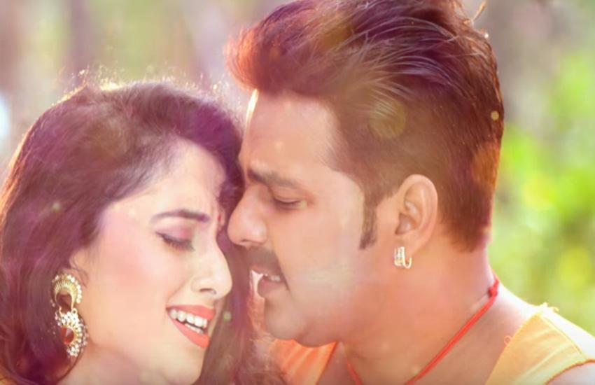 bhojpuri film, Bhojpuri star, Film Wanted, Lagelu Hunari Munari, Palangiya Ae Piya Sone na diya, Pawan Singh, viral video, Pawan Singh superhit song palangiya sone na de, Bhojpuri star Pawan Singh, superhit song palangiya sone na de, jansatta