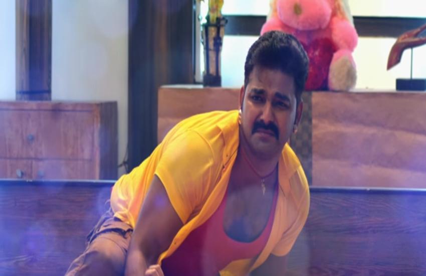 bhojpuri film, Bhojpuri star, Film Wanted, Palangiya Ae Piya Sone na diya, Pawan Singh, viral video, Pawan Singh superhit song palangiya sone na de, Bhojpuri star Pawan Singh, superhit song palangiya sone na de, jansatta