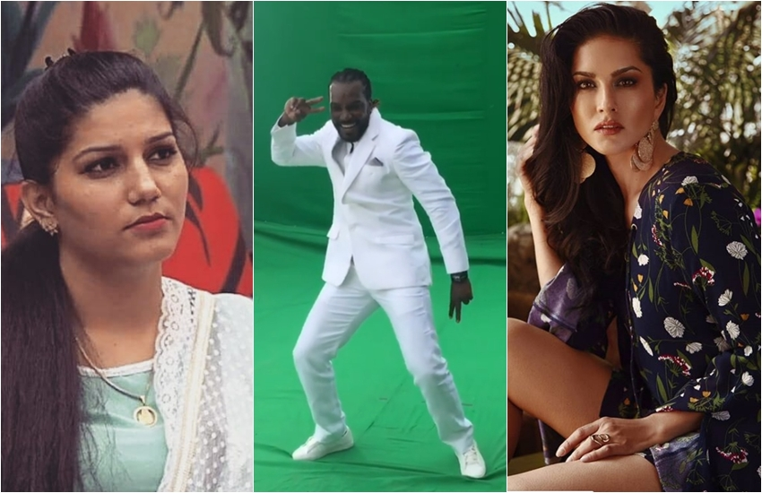 VIDEO OF Chris Gayle, Chris Gayle, Chris Gayle DANCE, Chris Gayle dancing on sapna chaudhary song, Chris Gayle dancing on sunny leone laila, laila song from Raees, entertainment news, bollywood new, television news, entertainment news, bollywood new, television news, entertainment news, bollywood new, television news