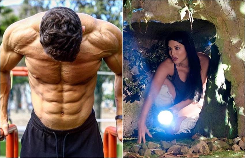 Sunny Leone, sunny leone gym instructor, sunny, actress sunny leone, actress sunny for maintain body, see video of sunny leon, entertainment news, bollywood news, television news, entertainment news, bollywood news, television news