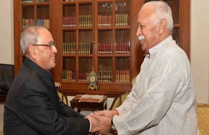 Former President Pranab Mukherjee, Congress leader Pranab Mukherjee, rss, sangh, nagpur, Bharitya janta party, Pranab Mukherjee, PM Narendra Modi, hindi news, news in Hindi, Jansatta