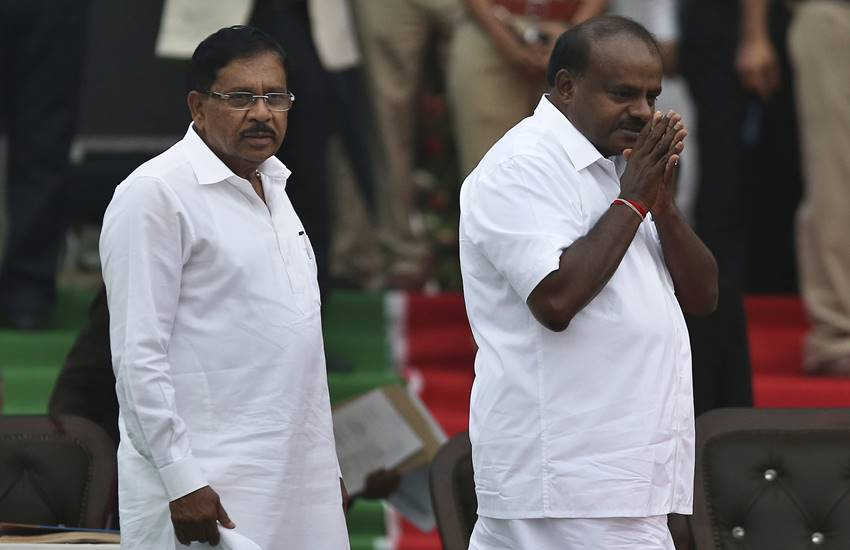 Congress deputy cm g parameshwara, congress, jds, bjp, karnataka floor test, karnataka floor test news, kumaraswamy floor test, floor test, floor test in karnataka, floor test karnataka 2018, karnataka election, karnataka election news, karnataka news, yeddyurappa, yeddyurappa floor test, yeddyurappa floor test in karnataka