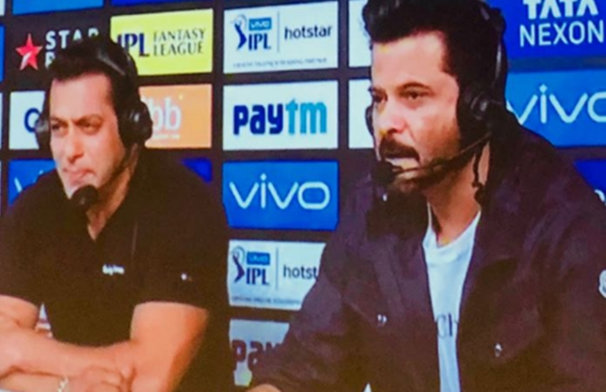 IPL 2018 closing ceremony, Race 3, Race 3 star Salman Khan, Race 3 star Anil Kapoor, Race 3 star cast, salman turns into commentator, see video of anil and salman, anil kapoor turns into commentator, entertainment news, bollywood news, television news, entertainment news, bollywood news, television news
