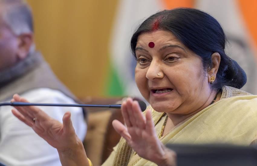Sushma Swaraj, Sushma Swaraj statement, Sushma Swaraj apology, mea, nepal, pm modi, Indian, Hindi news, News in Hindi, Jansatta