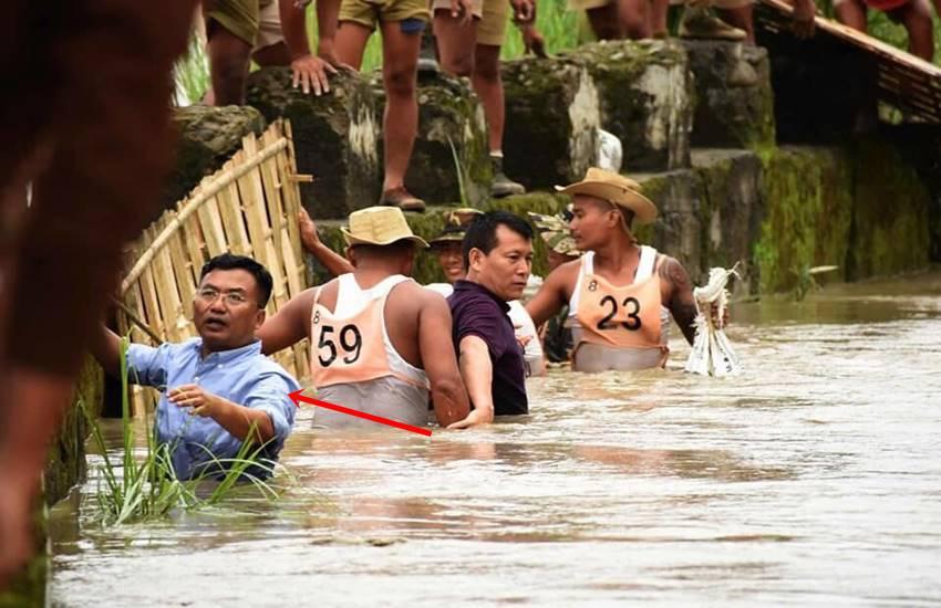 Manipur, Manipur flood, Imphal, IAS, Deleep Singh, IAS officer at work, flood control, Hindi news, News in Hindi, Jansatta