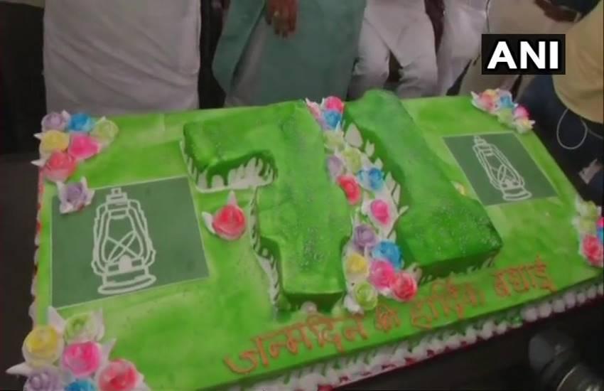 Lalu Prasad Yadav Birthday, Lalu yadav birthday, Lalu yadav 71 bithday, Lalu yadav, Tej pratap yadav, Tejashwi yadav, rjd, Patna, Bihar, Bihar news, Patna news, Hindi news, Jansatta