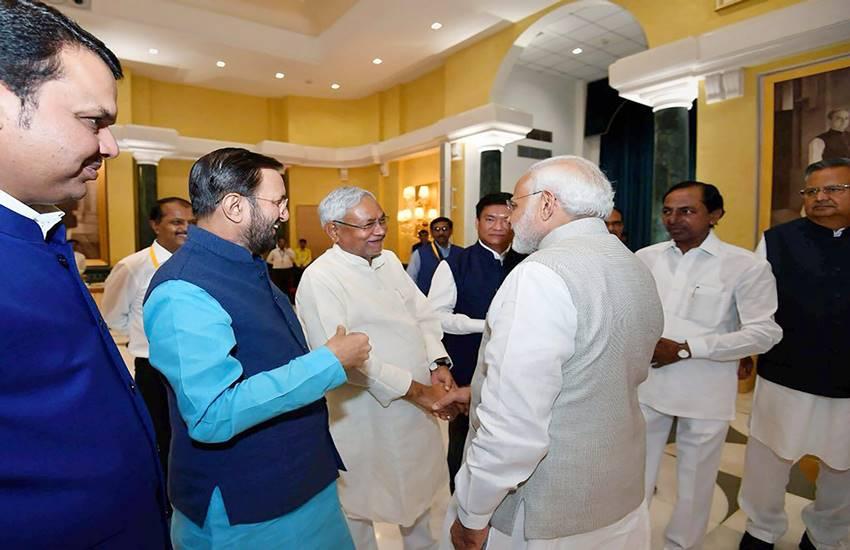 Nitish kumar, Prime Minister Narendra Modi, PM Modi, Team India, NITI Aayog, Bihar cm, bjp, jdu, Mid day meal scheme, aagaonbadi scheme, Hindi news, News in Hindi, Jansatta