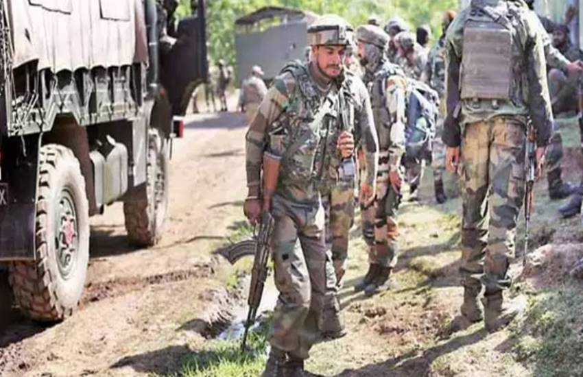 Kulgam, Kulgam encounter, Army, Indian army, two terrorists killed, encounter, Lashkar-e-Taiba, Hindi news, news in Hindi, Jansatta