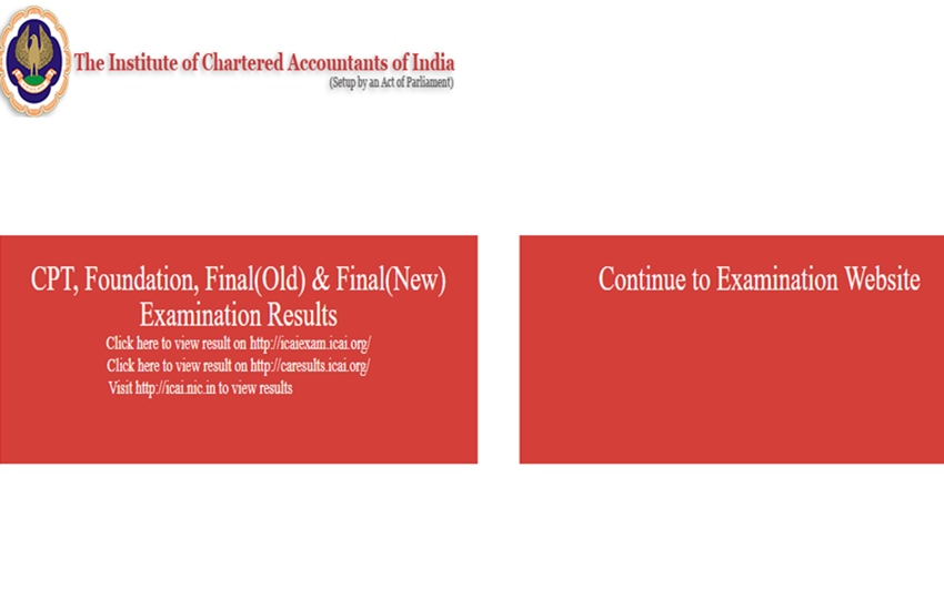ICAI website