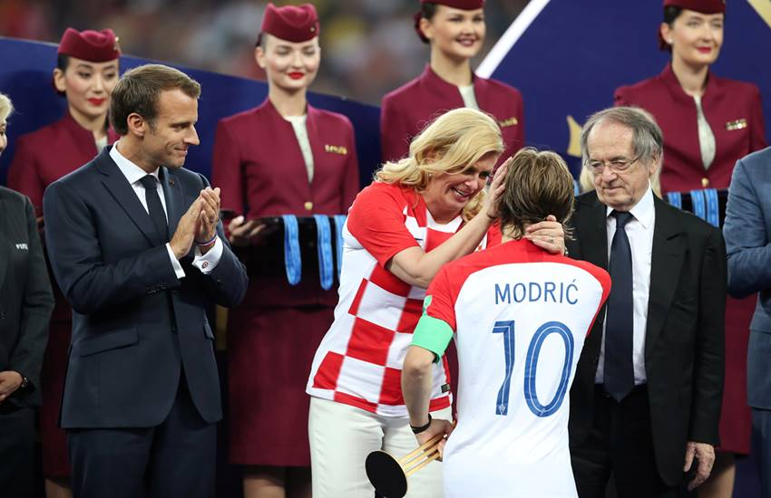 fifa world cup 2018, विश्व कप 2018, fifa final result, fifa final winner, channels india, fifa world cup 2018 final, fifa world cup 2018 winner, france vs croatia, france vs croatia final, fifa, france vs croatia semi final,fifa final, football world cup 2018, football world cup 2018 semi final, world cup 2018 semi final, semi final world cup 2018, Croatia President, Luka Mordric, Moscow, Russia