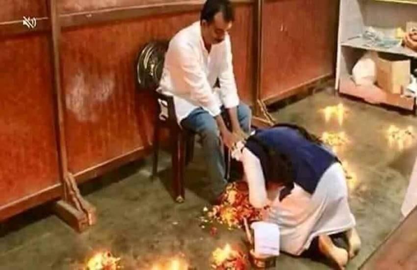 guru purnima, cnn girls higher secondary school, muslim girls touch feet of Teacher, Thrissur, Thrissur muslim girl, Hindi news, News in Hindi, Jansatta