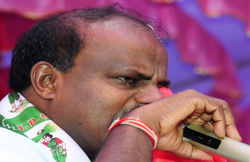 Kumaraswamy, HD Kumaraswamy, HDK, Kumaraswamy crying, bjp reaction on Kumaraswamy broke down, karnataka, karnataka cm bjp, jds, Hindi news, news in hindi, Jansatta