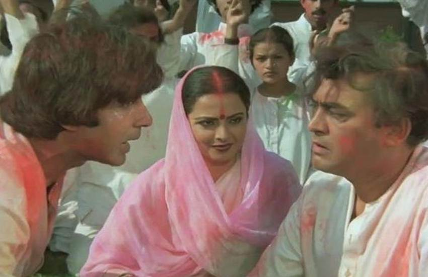Holi 2018,Raj Kapoor, Holi Party, Amitabh Bachchan, Rang Barse Chunar Wali Song, amitab bachchan, amitabh bachchan posts
