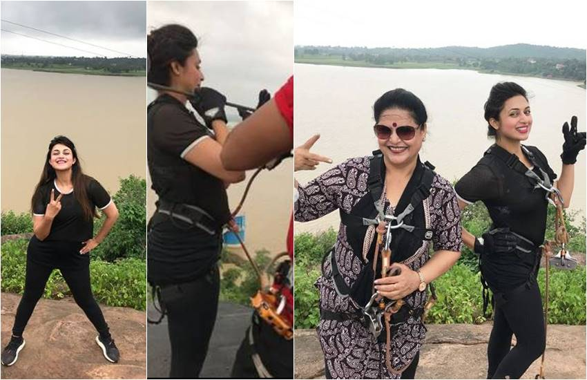 divyanka tripathi, divyanka tripathi dahiya, divyanka with mom, divyanka having dangerous stunt in Kerwa Dam, divyanka in mp,divyanka tripathi, divyanka tripathi dahiya, divyanka with mom, divyanka having dangerous stunt in Kerwa Dam, divyanka in mp,television news ,entertainment news, bollywood news, television news ,entertainment news, bollywood news, television news