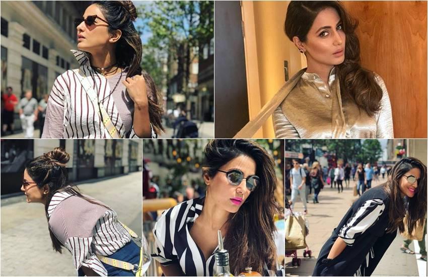 Hina Khan in London, hina khan in london for a Charity event, hina khan in social media, hina khanr trolled by social media users, Hina Khan in London for a Charity event, social media user troll hina, users to hina post related Charity event, hina khan pictures,entertainment news, bollywod news, television news, entertainment news, entertainment news, bollywod news, television news, entertainment news