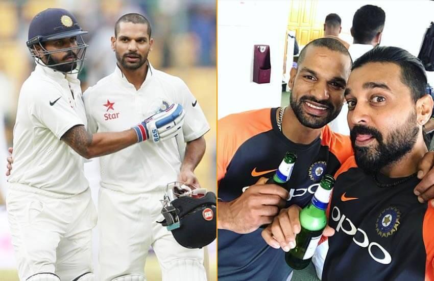 बीयर के साथ जीत सेलिब्रेट करते दिखे धवन-विजय, होगा राहुल-बिन्नी जैसाहाल?