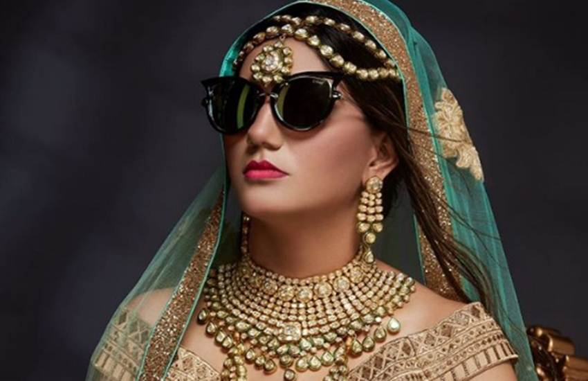 photos of sapna chaudhary, bride look of sapna chaudhary, sapna chaudhary news pictures, sapna chaudhary photo shoot, sapna bigg boss ex contestant, new photoshoot of sapna chaudhary, entertainment news bollwywood news, television, entertainment news bollwywood news, television,entertainment news bollwywood news, television