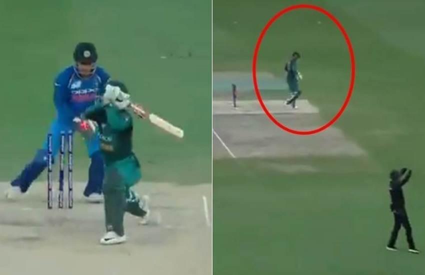 India vs Pakistan, MS Dhoni, Stumping, Shadab Khan, Pakistan, Out, Pavilion, Third Umpire, Result, Asia Cup, Cricket News, Sports News, Hindi News
