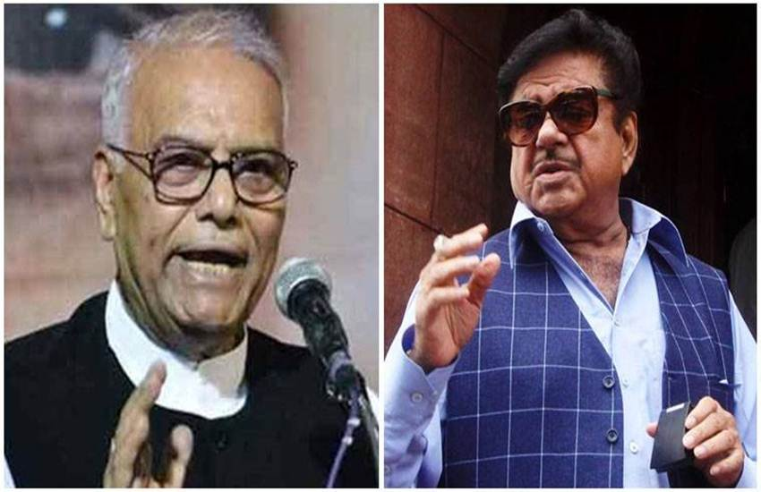 Yashwant Sinha and Shatrughan Sinha