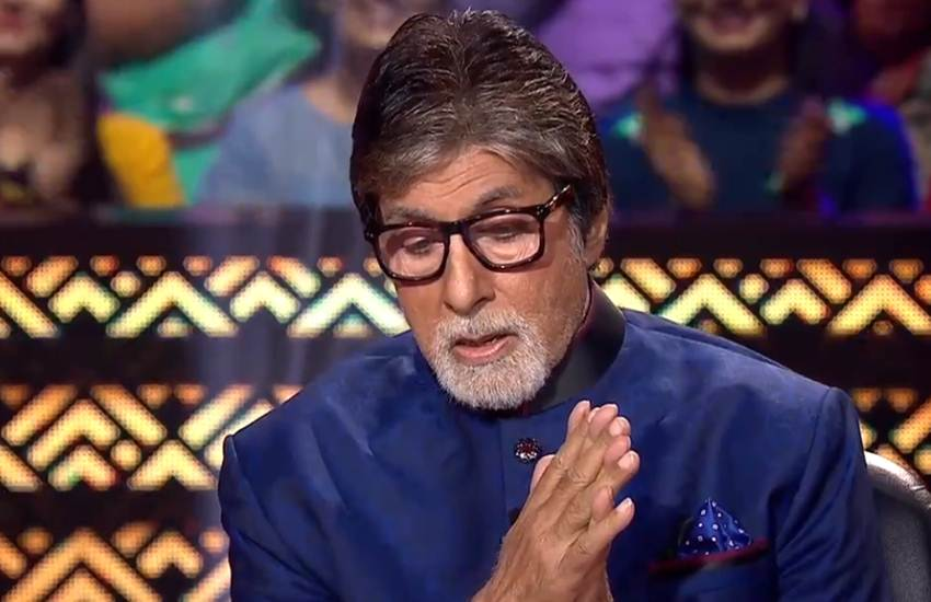 kbc 10, kbc 10 amitabh bachchan, amitabh bachchan, amitabh bachchan thugs of hindostan, amitabh bachchan soma chaoudary