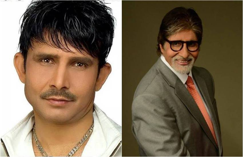 amitabh bachchan, amitabh bachchan, jansatta, amitabh bachchan welcome to krk, amitabh bachchan welcome to krk on twitter, bigg b fans reacting, bigg b on twitter, krk on twitter, bigg b welcome to krk on twitter, entertainment news, bollywood news, television news, bigg boss 3, amitabh bachchan hosted bigg boss season 3