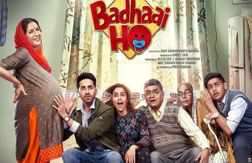 Badhaai Ho Trailer, Ayushmann Khurrana, sanya Malhotra, ayushmann and sanya starrer badhaai ho, Amit Sharma Directed film Badhaai ho, badhaai ho Official Trailer out, Ayushmann Khurrana, sanya Malhotra, ayushmann and sanya starrer badhaai ho, Amit Sharma Directed film Badhaai ho, badhaai ho Official Trailer out, Ayushmann Khurrana, sanya Malhotra, ayushmann and sanya starrer badhaai ho, Amit Sharma Directed film Badhaai ho, badhaai ho Official Trailer out, entertainment news, bollywood news television news