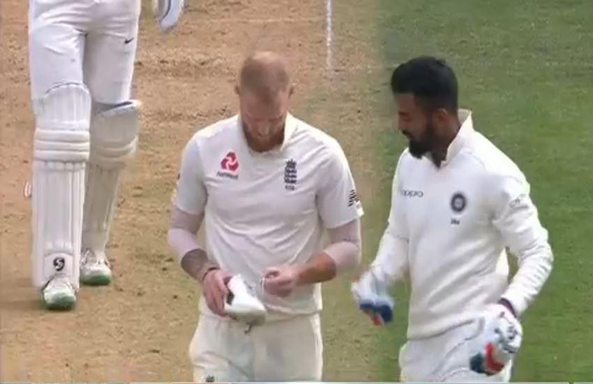 ind vs eng, india vs england, india vs england score, india vs england 4th test, india vs england test score, india vs england test, ind vs eng score, ind vs eng 4th test, ind vs eng 5th test score, kl Rahul loses his shoe Ben Stokes, kl Rahul, kl Rahul video
