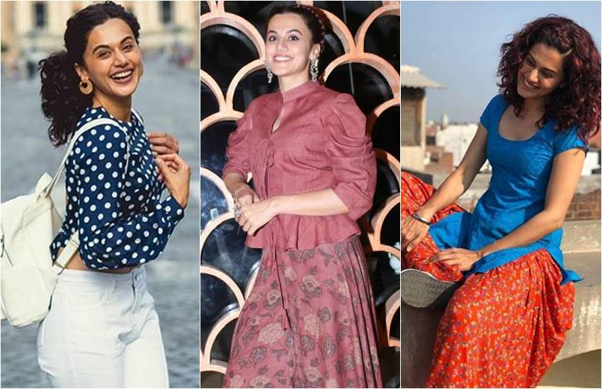 Taapsee Pannu, taapsee pannu Exclusive Interview, Exclusive Interview Manmarziyaan team, actress taapsee pannu, Jansatta Exclusive Interview, taapsee pannu interview, when taapsee cuts her hair with permission in sikh family, taapsee share her story, taapsee fight adorably to their family, when taapsee cut hair for the first time, entertainment news, bollywood news, Abhishek Bachchan, Taapsee Pannu, Vicky Kaushal, Anurag Kashyap, Manmarziyaan Official Trailer
