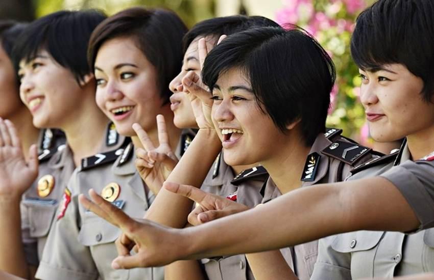 Indonesia Women Police 1200